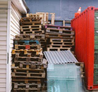 Orden y limpieza. Almacenamiento y acopio de materiales en las obras de construcción.