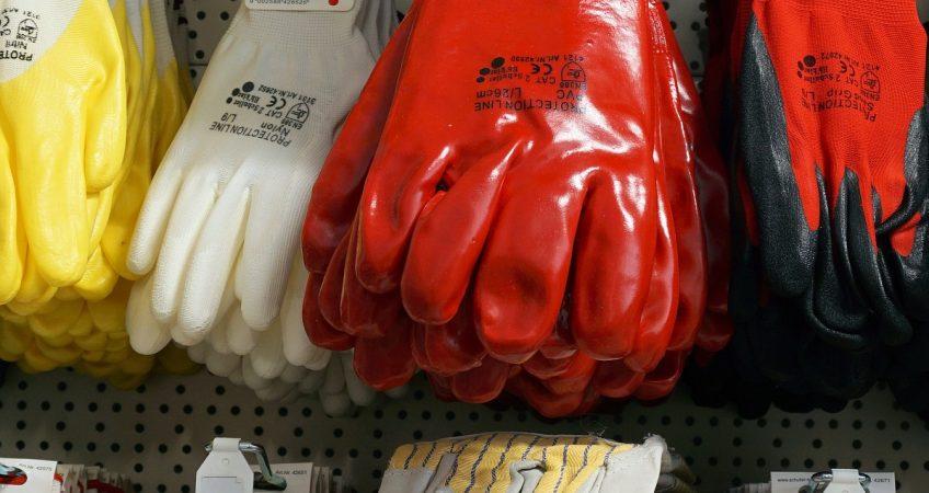 EPI's - guantes de seguridad