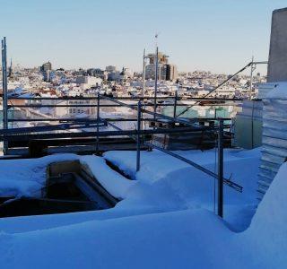 Exposición al frio en la construcción - nieve - GespreObra