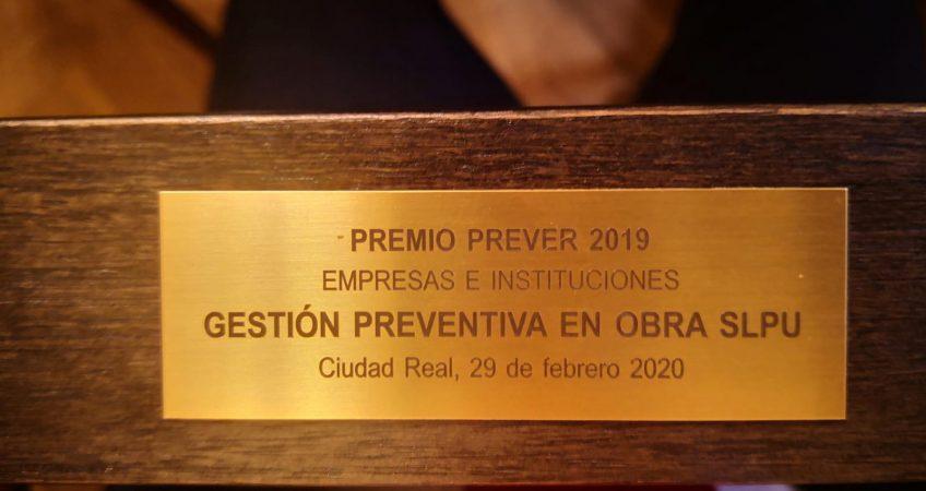 Premio Prever 2019 GespreObra