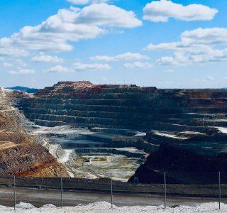 Riesgos en la minería a cielo abierto de Minas de Riotinto